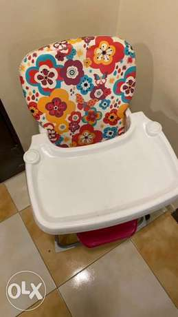 Multicolor babies foldable high chair الدمام -  2