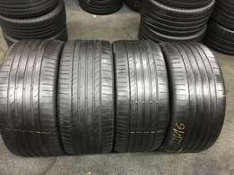 Set of 295/40/21 tyres for sale