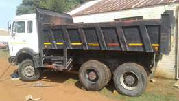 Mercedes Benz 2628 , tiPPer, 10 cub, double diff