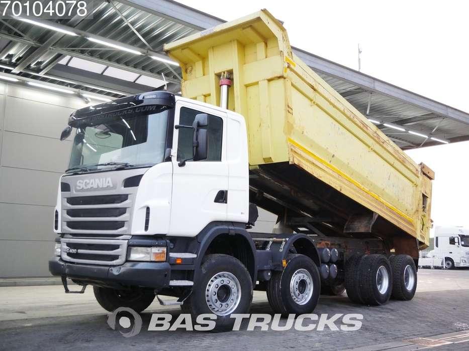 Scania G400 8X4 Manual 26m3 Big-Axle Steelsuspension Euro 5 - 2012