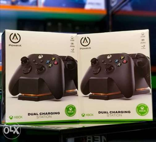 Dual Charging Station For Xbox Available
