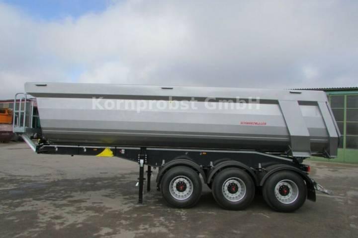 Schwarzmuller Kippmulde 28 m³ - TROMMELBREMSEN - LIFT Nr.: 822 - 2019
