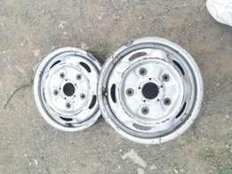 "Ford transit 15"" Steel Rims ex uk"