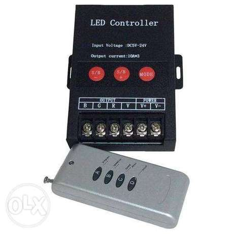 RF 4key 30A RGB Led strip controller DC5-24V