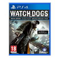Watch Dogs: Special Edition (PS4) for sale at GAMING4GEEKS