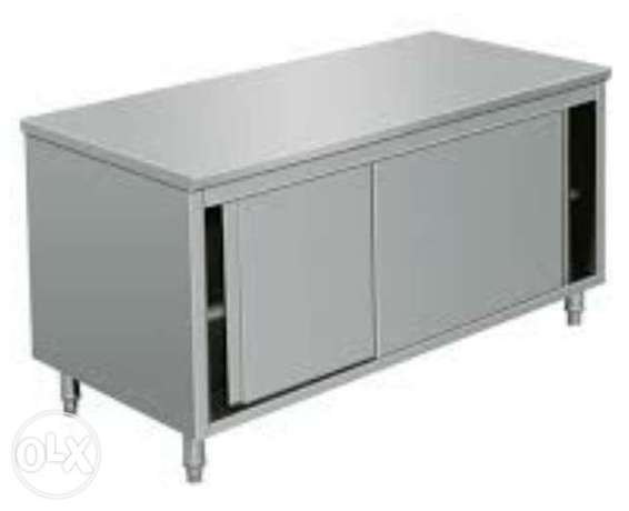 Ss table cabinet