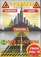 Tarring,Gates and Fencing