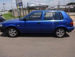 2002 toyota tazz1.3 in good condition