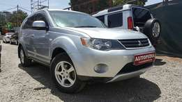 Mitsubishi Outlander, Silver, 4WD Select, Year 2007, 2400cc, Automatic