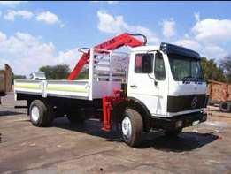 8ton-10ton Crane truck for Hire