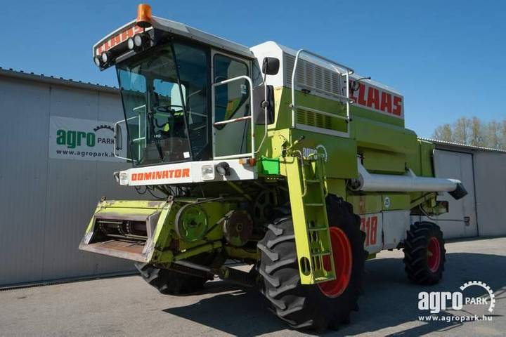 Claas Mega 218 (4082/6602 Hours) 6 Straw Walker Combine - 1993