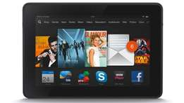 """Fire Tablet, 7"""" Display, Wi-Fi, 8 GB(Expandable to 200GB)"""