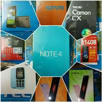 Mega Offers on phones Infinix tecno x-tigi free delivery countryWide
