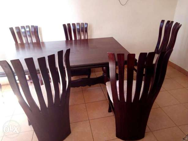 Dinning table with 6 chairs Thika - image 6