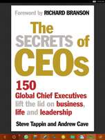 The Secrets of CEOs by Steve Tappin