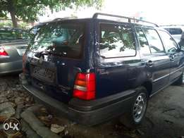 Clean Tokunbo Volkswagen golf wagon for sale