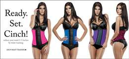 Waist trainers 100% latex New stock just in!