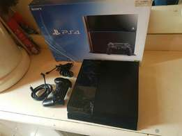 Sony playstation 4 500 gb console as new includes necessary cables and