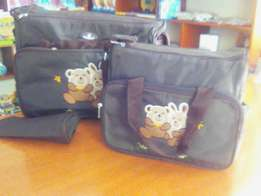 Quality 3pc diaper bags.