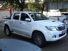 2011 Toyota Hilux 3.0 D4-D Raised BodyDouble Cab Automatic