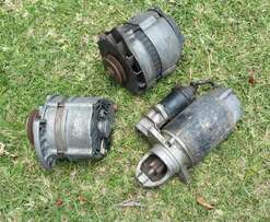 Alternators + Rover V8 starter motor