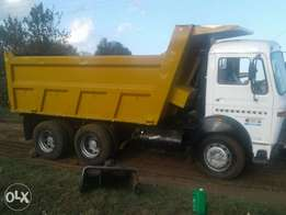 Tata lorry tipper 10wheels kbu