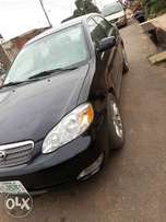 Clean Toyota Corolla black 03 with no custom papers Reg