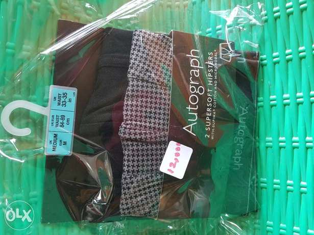 Marks&spencers Autograph stretchy trunks.2 n a pack.avail sizes M&XL Ibadan South West - image 1