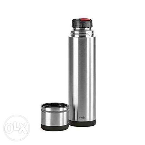 "Emsa""Mobility"" 25.4 oz Vacuum Flask, Black/Anthracite"