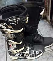 Off Road Bike Boots - Fox - Worn Once