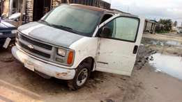 Awoof sales of chevrolet van, has a engine might need to be changed,