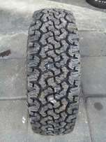 215/70/16 All Terrain BF Goodrich tyres for sell