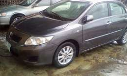frarly used Toyota Corolla 09 with full option for cheap sell