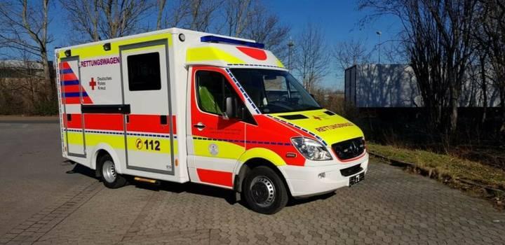 Mercedes-Benz Sprinter 516  u002Fu002F Mod. 2014 u002Fu002F 1 J - 2012