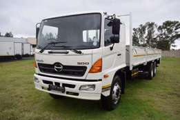 Hino Dropside HINO 500-/With Tag Axle Truck