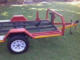 Combination Flat bed Trailer