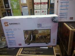 Sayona 24 inch DIGITAL LED TV,Brand New,Over 100 channels
