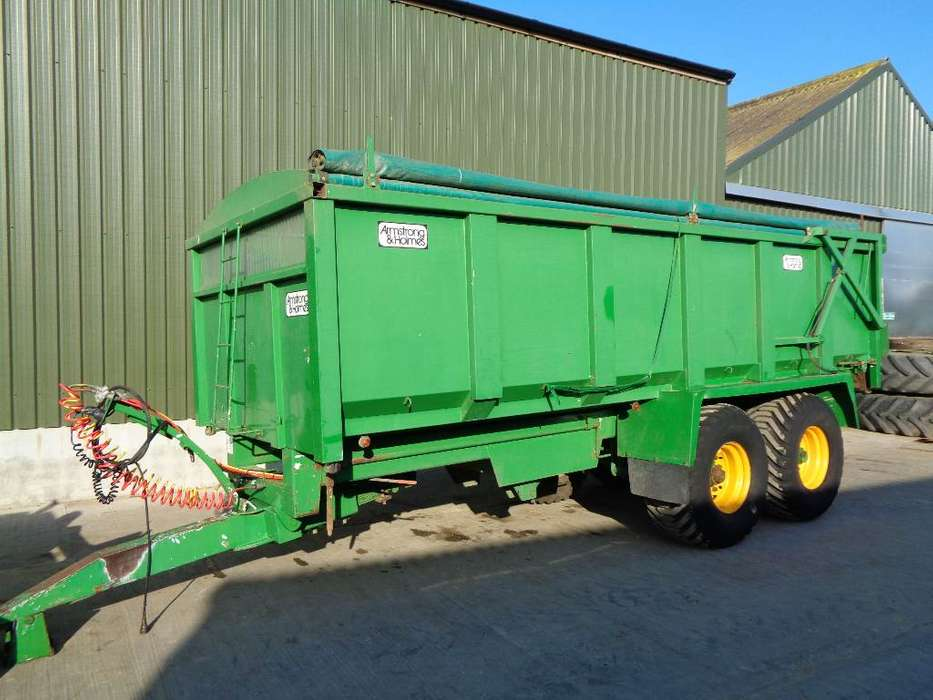 Trailer Armstrong And Holmes 14 Tonne - 2005