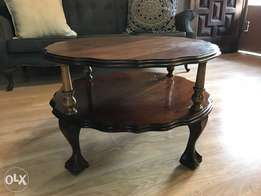 Antique coffee table Iimbuia