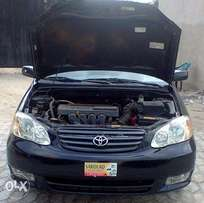 Distressed sales!!! Clean Tokunbo Toyota Corolla 2003 model