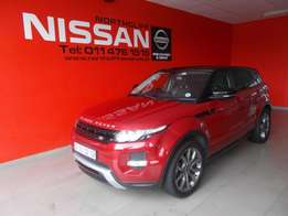 2013 Land Rover Evoque 2.2 SD4 Dynamic