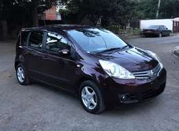 2010 Nissan Note Special Reg KCM 666* Maroon Color
