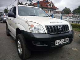 Toyota Prado GX manual