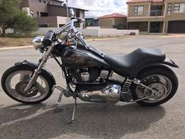 Reduced to sell Harley Davidson soft tail custom