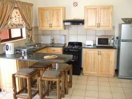 Fully Furnished 2 Bed 2 bath Air conditioned Flat in secure complex.