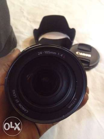 Canon Ultrasonic 24-105mm L Lens Garki 1 - image 1