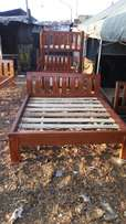 Mahogany wood slide beds