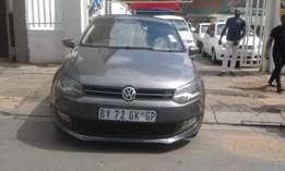 2012 Vw polo 6 grey in color 1.6 confortline available for sale