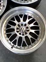 vw polo rims /ford focus rs