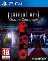 ps4 resident evil origins edtion